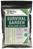 15000 Non GMO Heirloom Vegetable Seeds Survival Garden 32 Variety Pack - Chickadee Solutions - 1