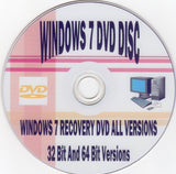 Windows 7 32bit/64bit Install for Home Basic Home Premium Professional or Ult... - Chickadee Solutions - 1