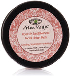 Aloe Veda Rose & Sandalwood Ubtan (Cooling Soothing And Hydrating) 50 gm - Chickadee Solutions - 1