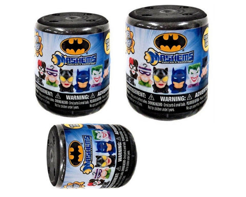 DC Batman Licensed Mashems Blind packs - 3 pack by T4K - Chickadee Solutions