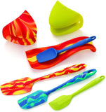 Fiesta 7-pc. Silicone Set One Size - Chickadee Solutions