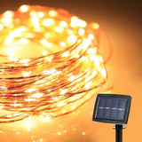 [2016 Upgraded Version] Solar Powered 150 LED 72 Feet Starry String Lights Co... - Chickadee Solutions - 1