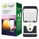 LE Outdoor LED Lantern 300lm 3 Modes Battery Powered Lasting Up To 6 Days Str... - Chickadee Solutions - 1