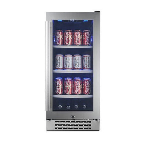 "Avallon 86 Can 15"" Built-In Beverage Cooler - Right Hinge - Chickadee Solutions - 1"