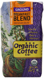 The Organic Coffee Co. Ground Breakfast Blend 12 Ounce - Chickadee Solutions - 1