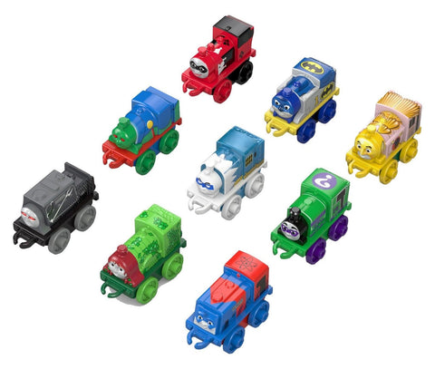 Fisher-Price Thomas the Train Minis DC Super Friends Character 9-Pack #2 - Chickadee Solutions - 1