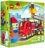 LEGO DUPLO Town 10592 Fire Truck Building Kit Standard Packaging - Chickadee Solutions - 1