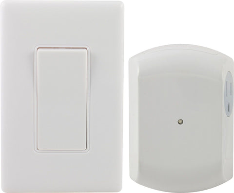 GE 18279 Wall-Switch Light Control Remote with 1 Outlet Receiver - Chickadee Solutions - 1