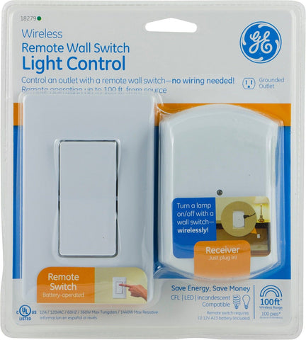 Switched Wall Lights Bhs : GE Wall Switch Outlet Light Almond Jasco - Wall lights, LED bathroom & bedroom lighting at ...