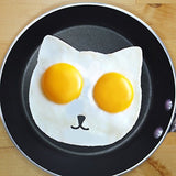 Cat Egg Mold By Egg Addiction Perfect Ring Molds for Fried Sunny Side up Egg... - Chickadee Solutions - 1