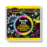 Melissa & Doug Scratch Art Doodle Pad - Chickadee Solutions - 1