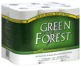 Green Forest Unscented Bathroom Tissue 100% Recycled Paper Whitened Without ... - Chickadee Solutions - 1