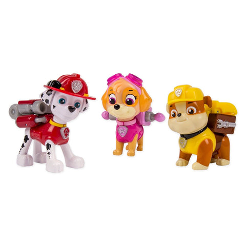 Paw Patrol 6024060 Action Pack Pups Pack of 3 - Chickadee Solutions - 1