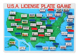 Melissa & Doug License Plate Game As Shown - Chickadee Solutions - 1