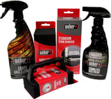 Weber Grill Cleaning Kit - Grill Spray Cleaner Stainless Steel Polish Grill S... - Chickadee Solutions