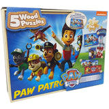 Paw Patrol 5 Wood Puzzles - Chickadee Solutions - 1