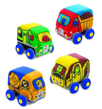 Melissa & Doug Pull Back Construction Vehicles - Chickadee Solutions - 1