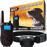 Best Rechargeable Waterproof Dog Training Collar Version 2.0 with Remote for ... - Chickadee Solutions - 1