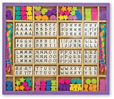 Melissa & Doug Deluxe Wooden Stringing Beads with over 200 beads - Chickadee Solutions - 1