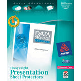 Avery Diamond Clear Heavyweight Sheet Protectors Acid Free Box of 200 (74400) - Chickadee Solutions