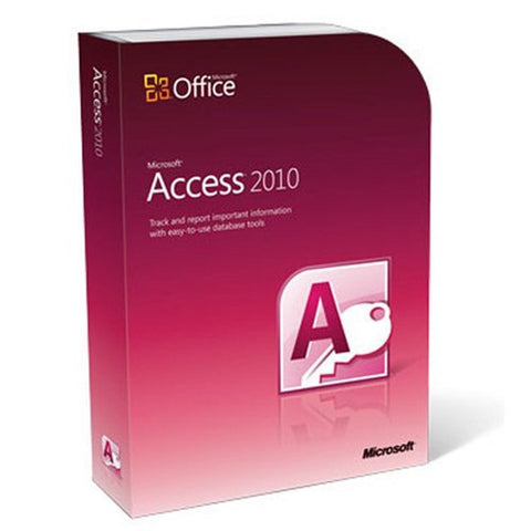 Microsoft Access 2010 PC Disc - Chickadee Solutions - 1