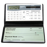 Datexx DB-403 3-Memory Checkbook Calculator White - Chickadee Solutions