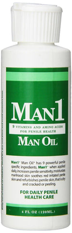 """Man1 Man Oil"" 4 oz Natural Penile Health Cream. 3 month Supply. Treat Dry Re... - Chickadee Solutions - 1"