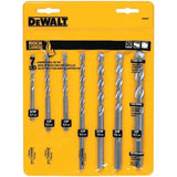 DEWALT DW5207 7-Piece Premium Percussion Masonry Drill Bit Set - Chickadee Solutions - 1