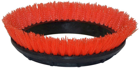 "Oreck Commercial 237047 Crimped Polypropylene Scrub Orbiter Brush 12"" Diamete... - Chickadee Solutions"