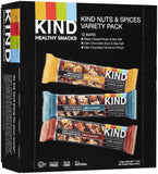 KIND Bars Nuts and Spices Variety Pack Gluten Free 1.4 Ounce Bars 12 Count - Chickadee Solutions - 1