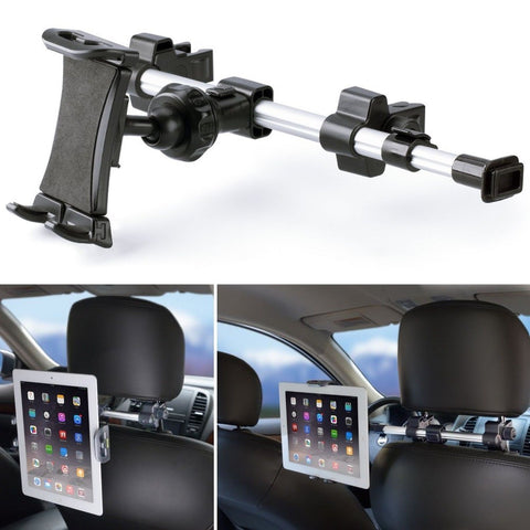 iKross Car Headrest Mount Holder with 360 Degrees Rotation for 7-10.2-Inch Ta... - Chickadee Solutions - 1