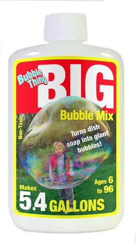BubbleThing: Big Bubble Instant Powder Refill Mix(Makes 5.4 Gallons) - Chickadee Solutions