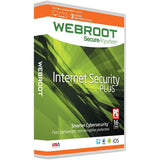 Webroot Internet Security Plus 2016 | 3 Devices | 1 Year | PC/Mac Disc - Chickadee Solutions - 1