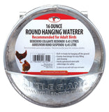 Little Giant Galvanized Hanging Feeder Round - Chickadee Solutions
