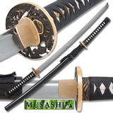 Musashi - 1060 Carbon Steel - Clay Tempered Samurai Sword - Chickadee Solutions - 1