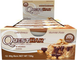 Quest Nutrition Protein Bar Smores 20g Protein No added Sugar 2.12oz Bar 12 C... - Chickadee Solutions - 1