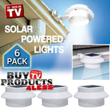 6 Pack Deal - Outdoor Solar Gutter LED Lights - Chickadee Solutions - 1