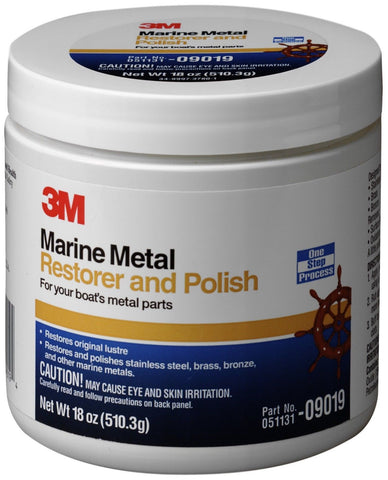 3M Marine Metal Restorer and Polish (18-Ounce Paste) - Chickadee Solutions