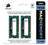 Corsair Apple Certified 16GB (2x8GB) DDR3 1333 MHz (PC3 10666) Laptop Memory - Chickadee Solutions - 1