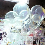 10 Inch Transparent Color Helium Balloons for Party Decoration 100 Pcs/lot - Chickadee Solutions - 1