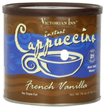 Victorian Inn Instant Cappuccino French Vanilla 16-Ounce Canisters (Pack of 6) - Chickadee Solutions - 1