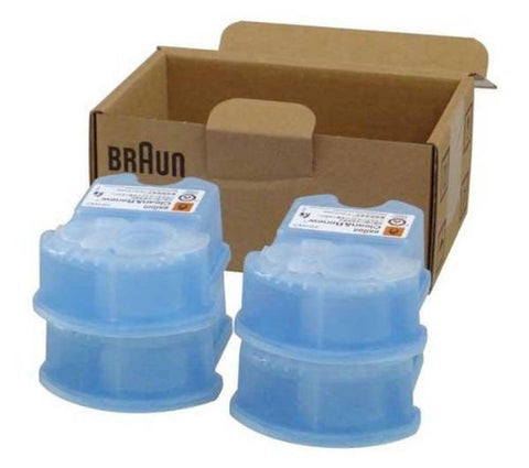 Braun Clean and Renew Cartridge Refills 4 Count 4 Refills Braun - Chickadee Solutions - 1