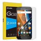 SPARIN [2 Pack] Moto G4 Screen Protector [Not for Moto G4 Plus] Glass Screen ... - Chickadee Solutions - 1