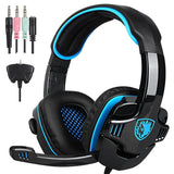 SADES SA-708 GT Universal Gaming Headset with Microphone - Retail Packaging - Chickadee Solutions - 1