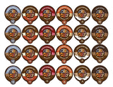 Crazy Cups Coffee Chocolate Lovers Single Serve Cups Variety Pack Sampler for... - Chickadee Solutions - 1