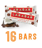 Larabar Gluten Free Snack Bars Coconut Chocolate Chip 1.6 Ounce Bars (16 Count) - Chickadee Solutions - 1