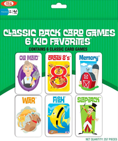 Ideal Classic Pack Card Games - Chickadee Solutions