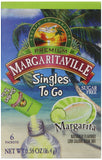 Margaritaville Singles to Go Drink Mix Margarita 6 Count (Pack of 12) - Chickadee Solutions - 1