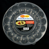 Deviled Egg Platter with Lid - Chickadee Solutions - 1