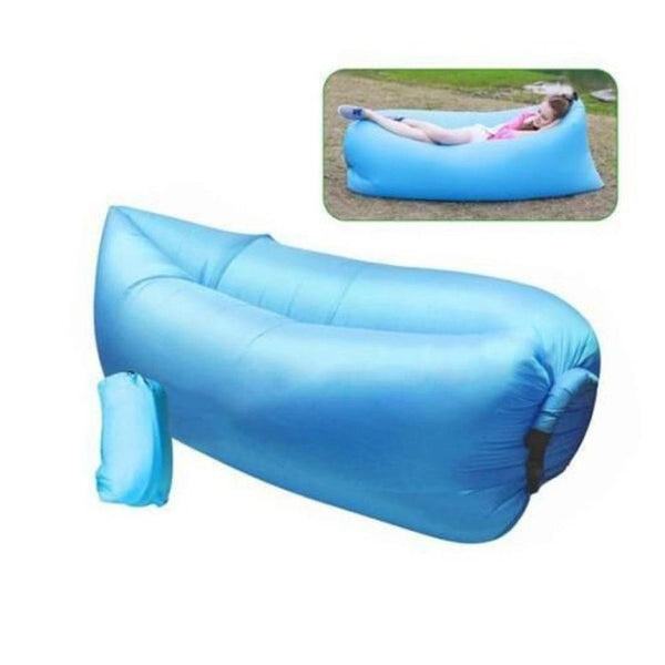 outdoor inflatable couch camping furniture sleeping. Black Bedroom Furniture Sets. Home Design Ideas